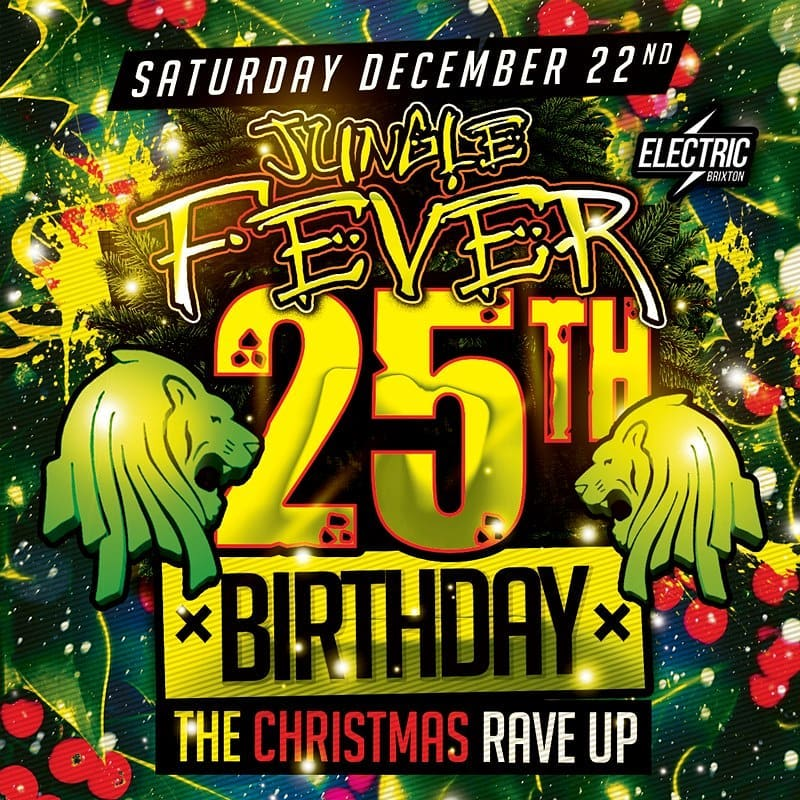 DJ Ron – Jungle Fever 25th Birthday